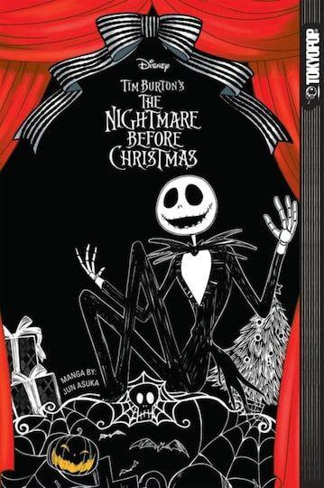 The Nightmare Before Christmas Manga 2020 Disney Manga: Tim Burton's The Nightmare Before Christmas By