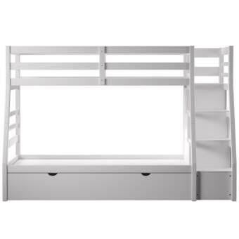 Shyann Staircase Twin Over Full Bunk Bed With Trundle Full Bed With Trundle Bunk Bed With Trundle Trundle Bed