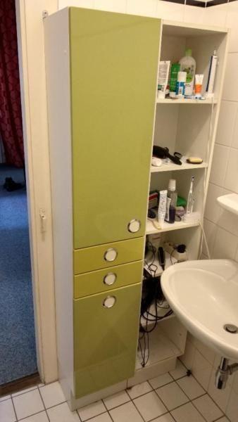 Badezimmerschrank Zu Verschenken Inklusive Integrierter
