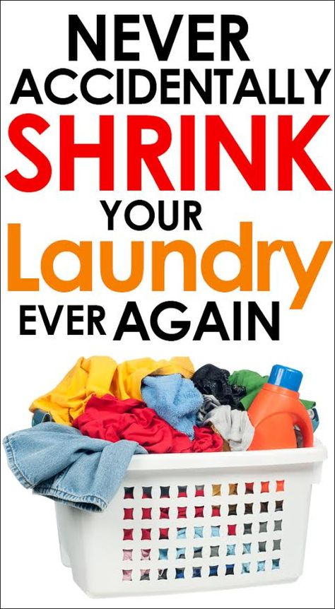 Learn how to never #shrink your #laundry again