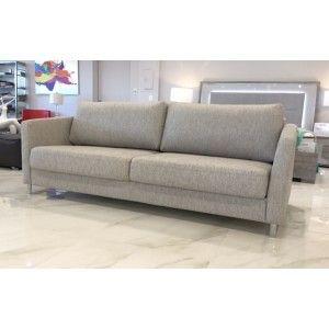 Rachel Light Gray Queen Modern Sleeper Sofa Contemporary Living Room Sofa Modern Sleeper Sofa Modern Sofa Living Room