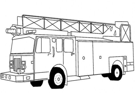 Free Printable Fire Truck Coloring Pages For Kids winter - copy free coloring pages for adults cars
