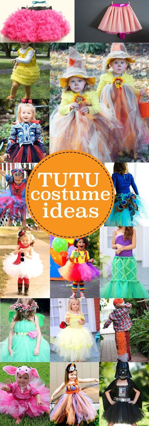 Halloween tutu costume tutorials
