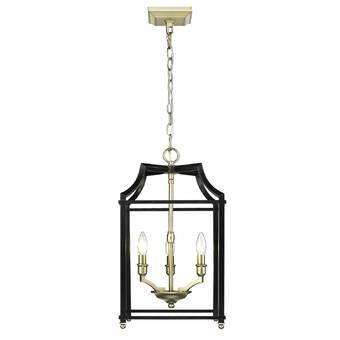 Boonton 6 Light Foyer Lantern Pendant Reviews Joss Main Black Pendant Light Lantern Pendant Lighting Brass Pendant Light