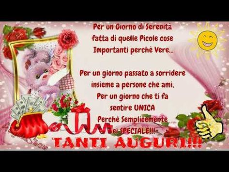 Frasi Di Auguri Per Matrimonio Youtube.Pin Von Gina Auf Link Divertenti Geburtstagswunsche Geburt Wunsche