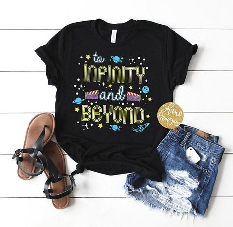 REFLECTIVE!!!!! To Infinity And Beyond Toy Story Shirt