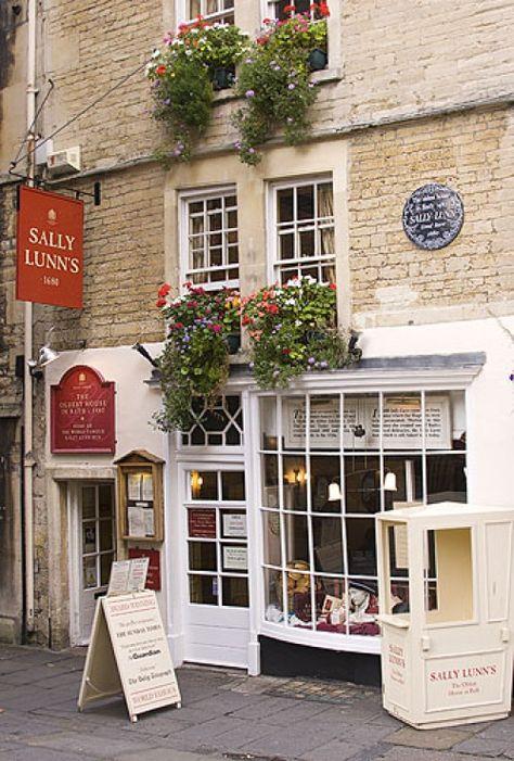 Sally Lunns Restaurant, Bath, Somerset
