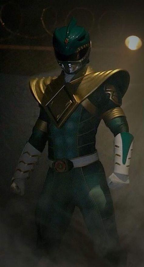 "Power Rangers Green 24/""x36/"" poster print"