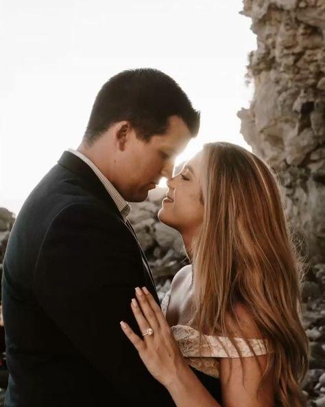 Dreamy California Coast Beach Engagement Photoshoot | Engagement session | Karyssa and Cody