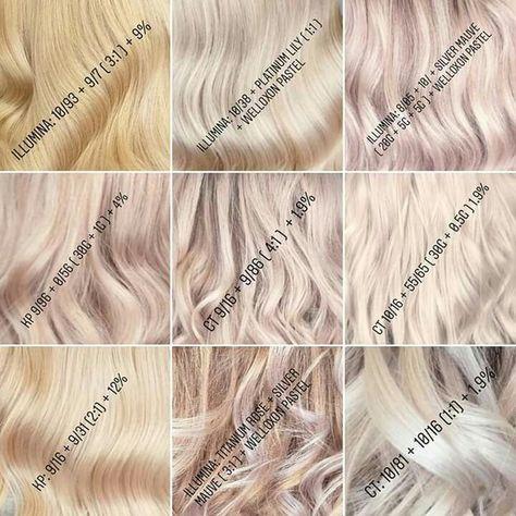 Haarfarben mischen