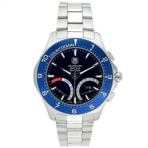 TAG Heuer Men's CAF7110.BA0803 Aquaracer Calibre S Regatta Chronograph Watch by TAG Heuer