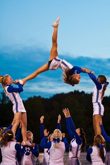 high school cheerleading stunt cheerleaders high school cheerleading stunt cheerleadersYou can find Cheer stunts . Cheerleading Stunts, Cool Cheer Stunts, High School Cheerleading, Nfl Cheerleaders, Competitive Cheerleading, Cheer Jumps, Cheerleading Cheers, High School Homecoming, College Cheer