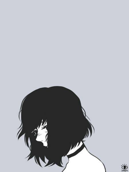 Pin Oleh Rose Di Dessin Style Manga Ilustrasi Seni Anime Sedih