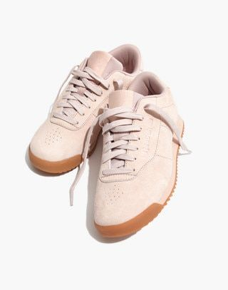 Princess Ripple Sneakers in Pink Suede