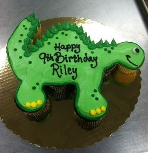 Dinosaur Cupcake Pullapart 793c The Bake Works With Images