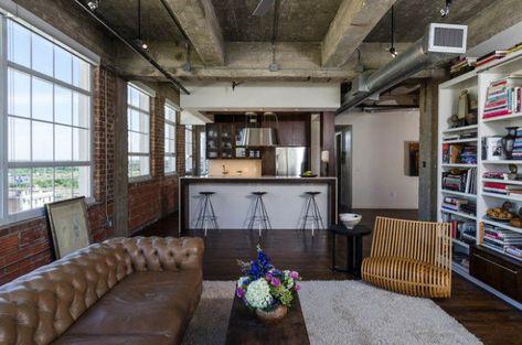 15 Urban Interior Design Ideen Im Industriellen Stil Wohndesign