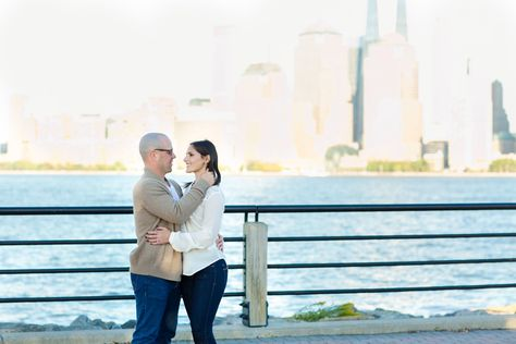 A Liberty State Park Engagement Session