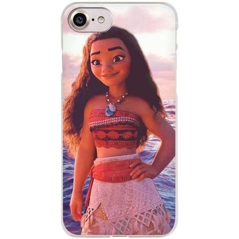 Waialik Moana Princess Clear Cell Phone Case Cover for Apple iPhone 4 4s 5 5s SE 5c 6 6s 7 Plus