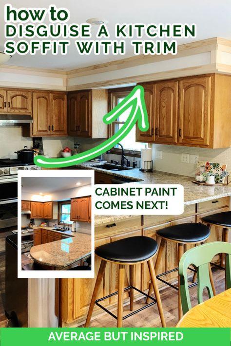 210 Kitchen Soffits Ideas In 2021 Kitchen Soffit Kitchen Remodel Kitchen Redo