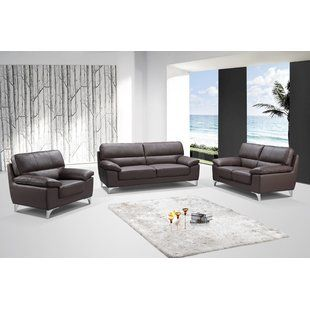 Best Comfortable Charity 3 Piece Living Room Sofa Set Orren Ellis Furniture Living Room Sofa Set Furniture Sofa Set Living Room Sofa