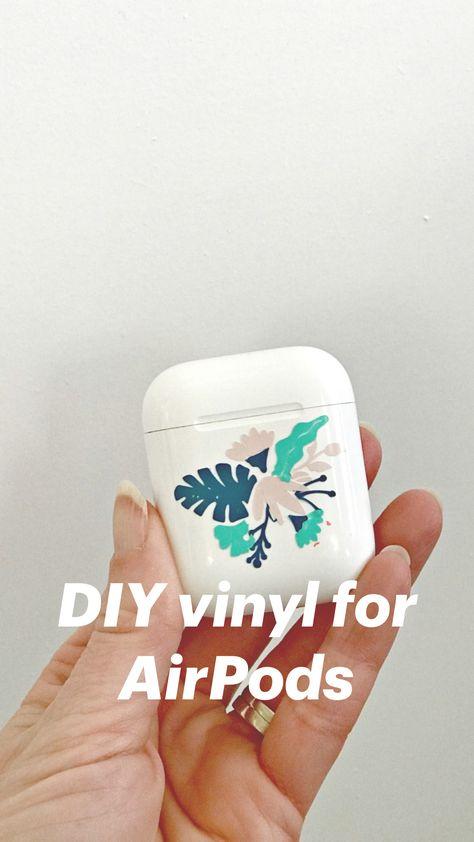 DIY vinyl for AirPods