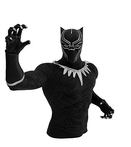 Marvel Black Panther Bust Bank Action Figure Multi-colored, 4 - Multi-colored