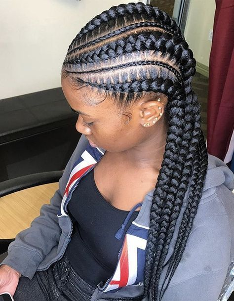 15 Braided Hairstyles You Need To Try Next Feed In Braids Hairstyles Cool Braid Hairstyles Braids For Black Hair