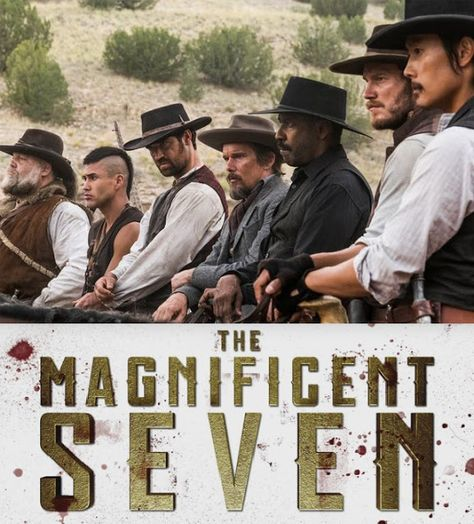 Cine Series: Tráiler de 'The Magnificent Seven' con Denzel Washington y Chris Pratt
