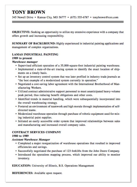 Example Of Retail Cover Letter - http\/\/exampleresumecvorg - tv production resume