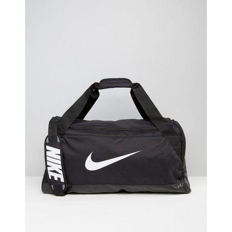 120d6adb7759 Nike Medium Brasilia Holdall Bag In Black BA5334-010 ( 45) ❤ liked on Polyvore  featuring men s fashion