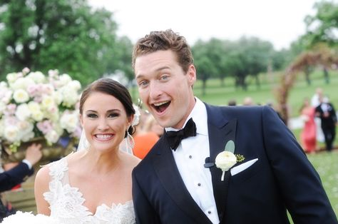 Jane + Trey spring wedding on @dweddings | @andreapolito | @bellabrides