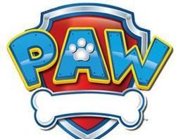 Bones Clipart Paw Patrol Font Buscar Con Google Paw Patrol Badge Paw Patrol Birthday Paw Patrol Party