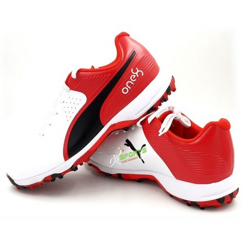 Buy Puma 19 FH Rubber Cricket Shoes Red | Cricket, Shoes