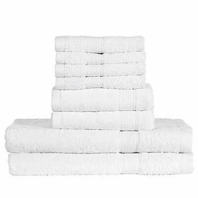 Advertisement Htovila 8 Piece Cotton Towel Set 4 Washcloths 2 Bath Towels 2 Hand Towels With Images Washing Clothes Towel Set Cotton Towels