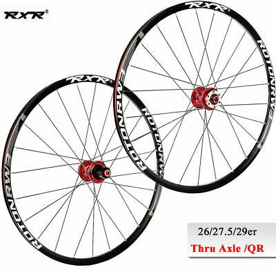 "RXR 26/"" 27.5/"" 29/"" Mountain Bike Wheelsets 7-11S Disc Brake Front Rear Rim Wheels"