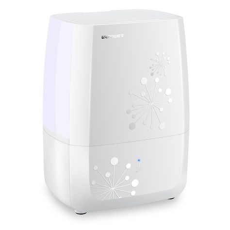 4L Ultrasonic Cool Mist Air Diffuser Humidifier w LED Night Light Bedroom Office