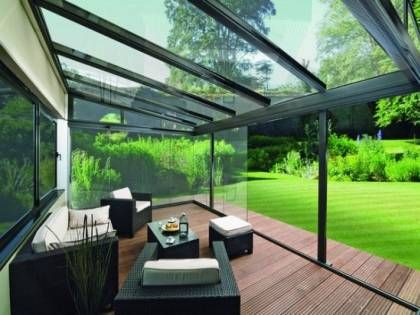 Glass Roof For The Patio The Benefits Of A Glass Canopy Toit