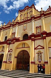 The Cathedral In San Cristobal De Las Casas Chiapas Mexico More