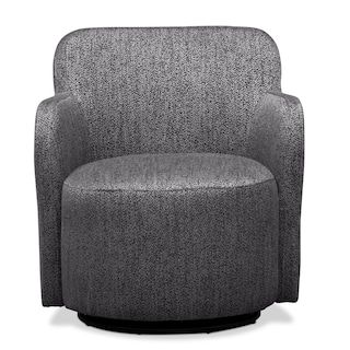 200 Garcia Swivel Chair Gray Wooden Dining Room Chairs Furniture Chair