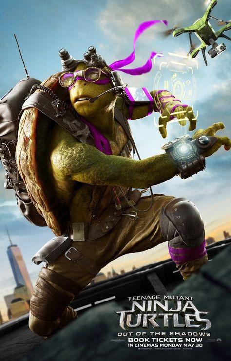 24x36 Rocksteady 5 TMNT Teenage Mutant Ninja Turtles Out of the Shadows Poster