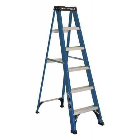 Louisville Ladder 6 Foot Fiberglass Step Ladder 225 Pound
