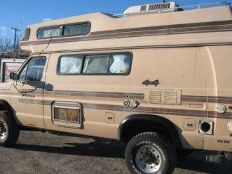 1992 Ford Okanagan E250 5 8l V8 Camper Van For Sale In Vancouver Bc Custom Camper Vans Recreational Vehicles Van Camping