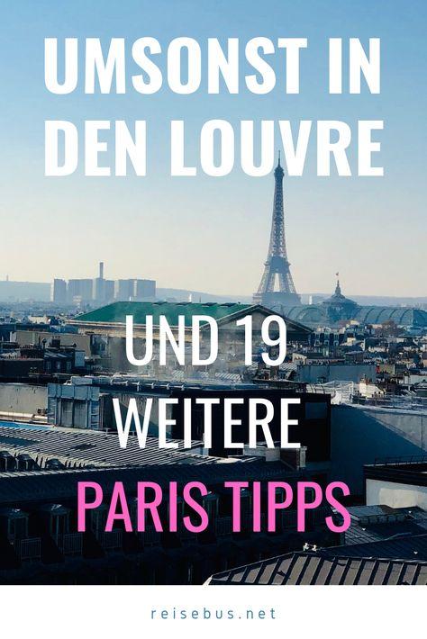 #paris #umsonst #20dingeinparis