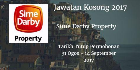 Jawatan Kosong Sime Darby Property 31 Ogos 14 September 2017 Danger Sign September Property