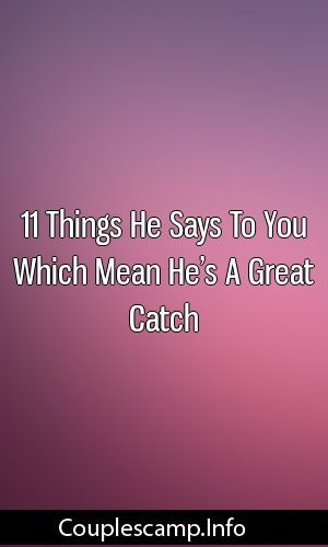 what does a good catch mean