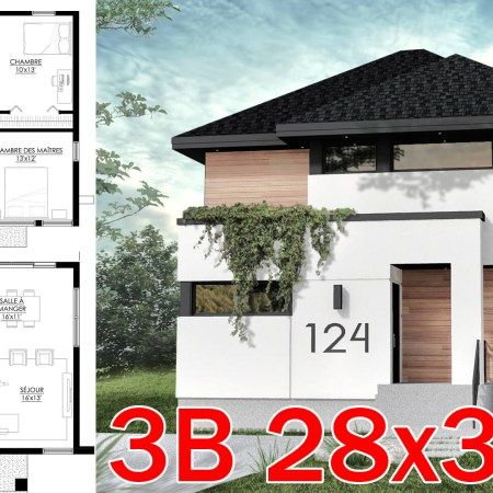 Small Home Design Plan 6 5x8 5m With 2 Bedrooms Samphoas Plan Home Design Plan House Design Small House Design