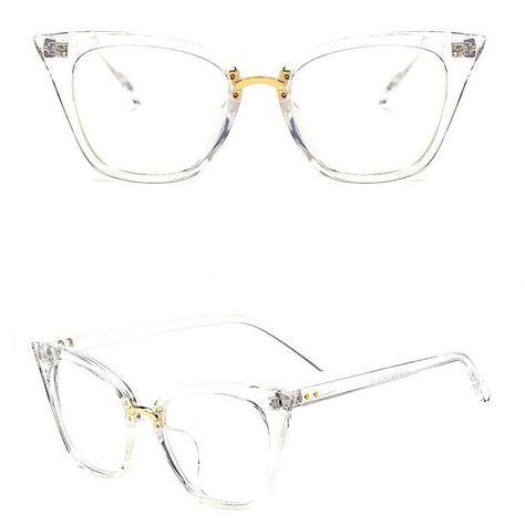 530d608f0f30 2017 Cat Eye eye glasses frames For Women Brand Designer Eyeglasses M nail  Clear Lens glasses Frame Oculos De Sol Feminino gafas