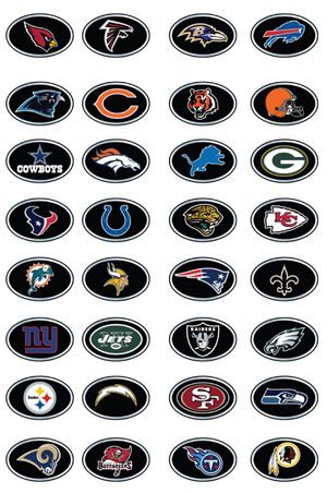 Football Teams Logos Football League Nfl Is The Largest