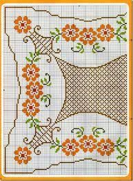 Resultado De Imagen Para Grafico Ponto Cruz Toalha De Mesa Cross Stitch Knitting Patterns Kids Rugs