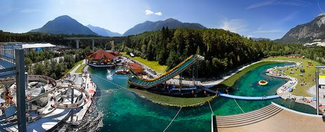 Austria Taxi Tipotsch recommends Area47 the outdoor adventure park in Ötztal, Tirol.